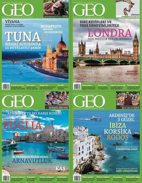 Geo Ağusto Eylül Ekim Kasım 2015