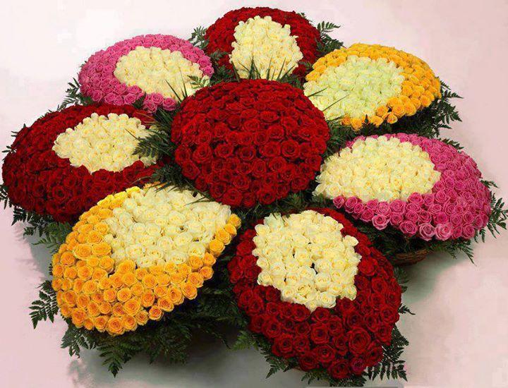 Фото цветы огромные букеты