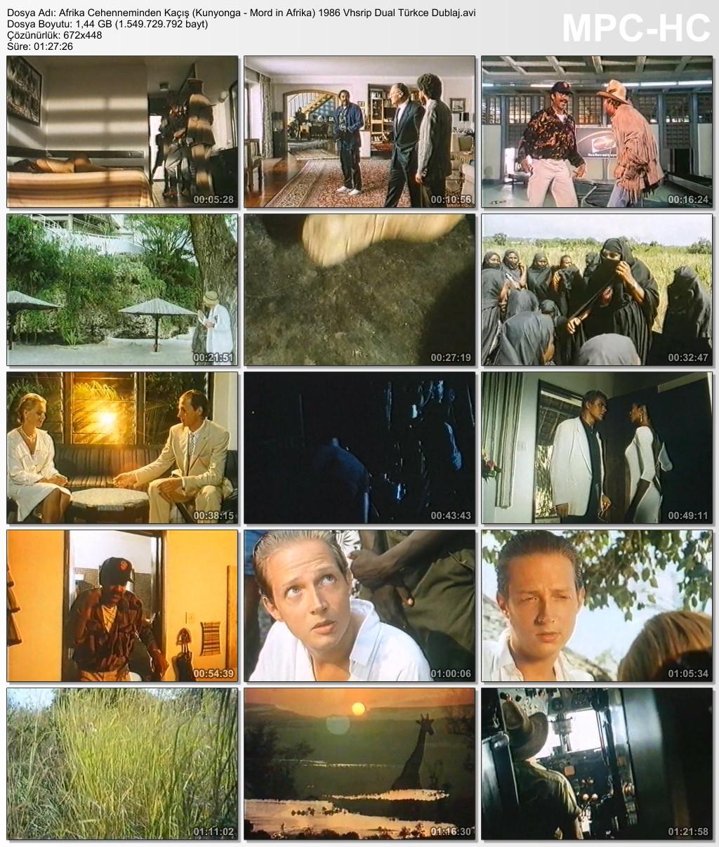 Afrika Cehenneminden Kaçış (Kunyonga - Mord in Afrika) 1986 Vhsrip Dual Türkce Dublaj - barbarus