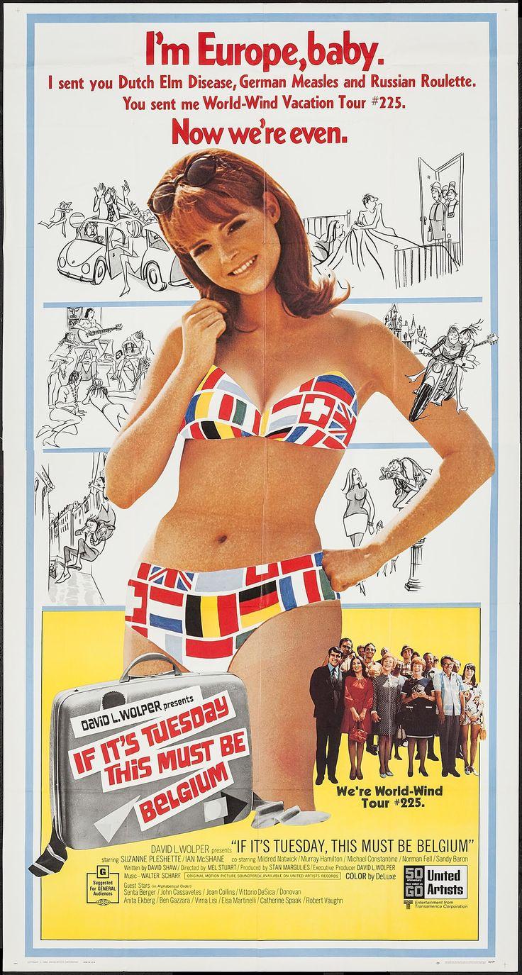 Eğer Günlerden Salı İse Bu Belçika Olmalı - If It's Tuesday  This Must Be Belgium (1969) - barbarus