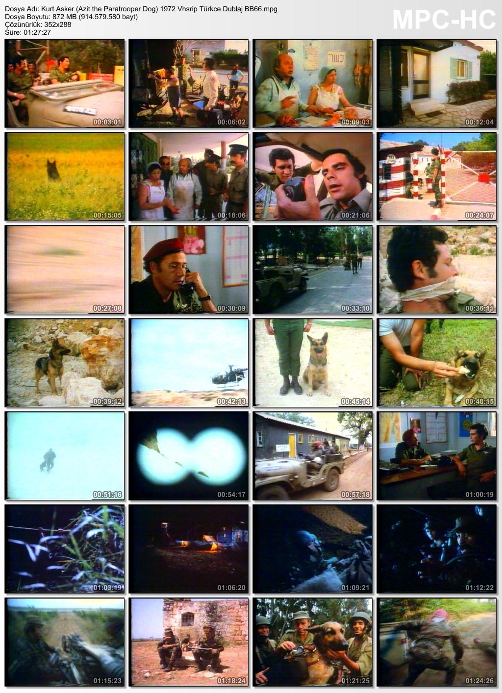 Kurt Asker (Azit the Paratrooper Dog) 1972 Vhsrip Türkce Dublaj BB66 - barbarus