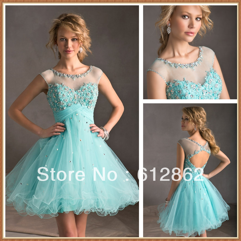 A Line Prom Dresses With Sleeves  Dressalecom
