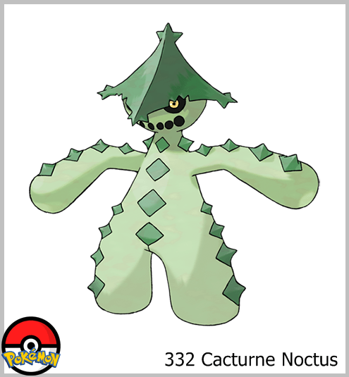 332 Cacturne Noctus