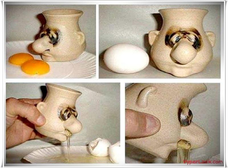 yumurta sarı tutucu kafa