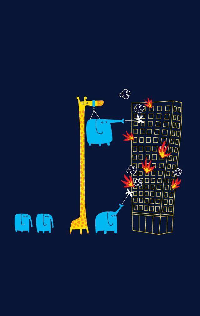 fireman animals