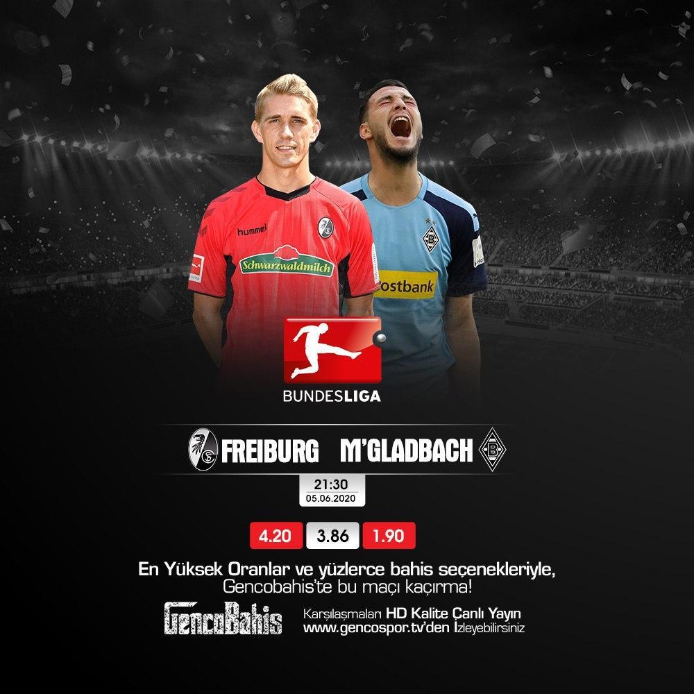 05.06.2020 Freiburg - M'Gladbach
