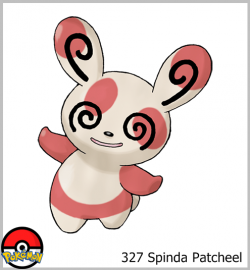 327 Spinda Patcheel