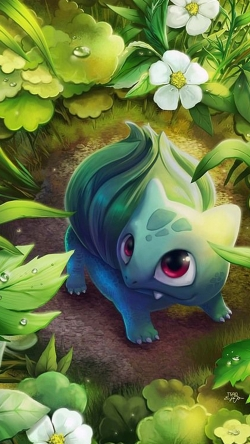 Pokemon Go jungle Iphone hd wallpaper