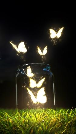 Moth-lit butterflies