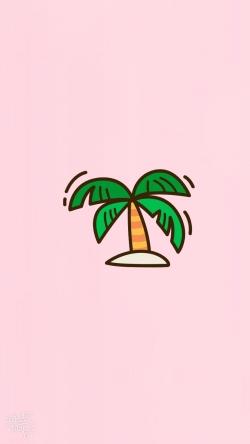 Plop tropical tree