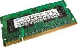 SAMSUNG DDR2-800 MHz 1gb 2rx16 PC2-6400s-666-12 Laptop  PC SO-DIMM Memory RAM