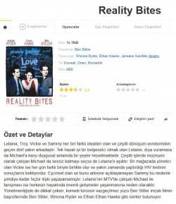 Gerçekler Acıtır (Reality Bites) 1994 Bluray 1080p Dual Türkce Dublaj BB66