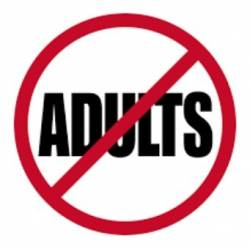 no adult